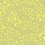 Calligraphy flowers wallpaper Stock Photography