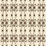 Calligraphy ornament seamless Stock Images