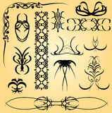 Calligraphy ornament Royalty Free Stock Images