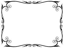Calligraphy ornamental decorative frame Royalty Free Stock Photography