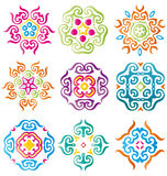 Calligraphy ornaments set Royalty Free Stock Photos