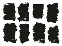 Calligraphy Paint Brush Background High Detail Abstract Vector Background Set 116. This image is a vector illustration and can be scaled to any size without loss stock illustration