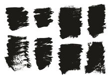Calligraphy Paint Brush Background High Detail Abstract Vector Background Set 113. This image is a vector illustration and can be scaled to any size without loss royalty free illustration