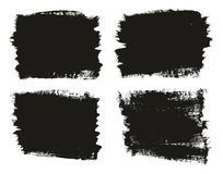 Calligraphy Paint Brush Background High Detail Abstract Vector Background Set 95. This image is a vector illustration and can be scaled to any size without loss royalty free illustration