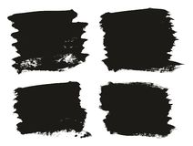 Calligraphy Paint Brush Background High Detail Abstract Vector Background Set 93. This image is a vector illustration and can be scaled to any size without loss stock illustration