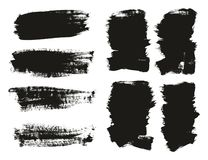 Calligraphy Paint Brush Background Mix High Detail Abstract Vector Background Set 28. This image is a vector illustration and can be scaled to any size without vector illustration