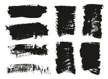 Calligraphy Paint Brush Background Mix High Detail Abstract Vector Background Set 27. This image is a vector illustration and can be scaled to any size without royalty free illustration
