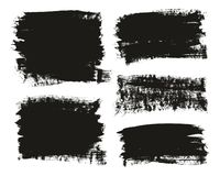 Calligraphy Paint Brush Background Mix High Detail Abstract Vector Background Set 12. This image is a vector illustration and can be scaled to any size without stock illustration
