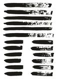 Calligraphy Paint Brush Lines Mix High Detail Abstract Vector Background Set 69. This image is a vector illustration and can be scaled to any size without loss stock illustration