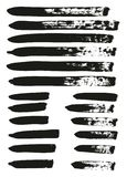 Calligraphy Paint Brush Lines Mix High Detail Abstract Vector Background Set 65. This image is a vector illustration and can be scaled to any size without loss vector illustration