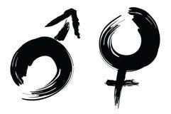 Calligraphydesigntecken Royaltyfri Fotografi