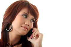 Calling Stock Image