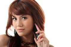 Calling Stock Photo