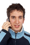 Calling Royalty Free Stock Photo