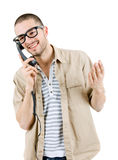 calling stock fotografie