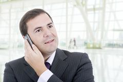 calling Stock Foto