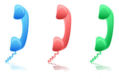 Calling icons Royalty Free Stock Photos