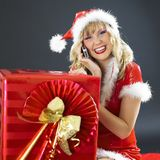 Calling Santa Claus Stock Photography