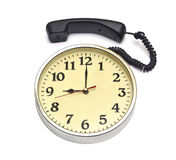 Calling time Stock Photography