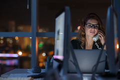 Calling to another time zone Royalty Free Stock Image