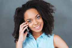 Calling to you. Stock Image