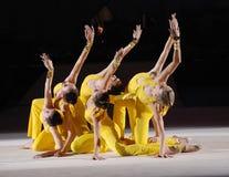 callisthenicsen frigör gymnastik Royaltyfri Fotografi