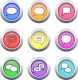 Callout buttons Stock Photos
