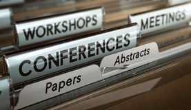 Free Calls For Papers And Abstracts For Conferences, Workshops Or Meetings Royalty Free Stock Photos - 106153208