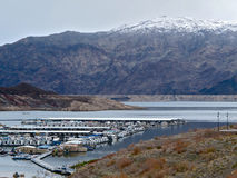 Callville Bay in Wintertime at Lake Mead National Recreation Area, Nevada Royalty Free Stock Images