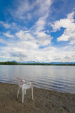 Calm Alaska Lake Shore Royalty Free Stock Photo