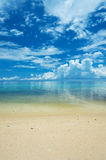 Calm ARAGUSUKU Beach, Okinawa Prefecture/Japan Royalty Free Stock Photo