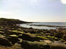 Calm Atlantic. Muckross head, Kilcar, Co Donegal, Ireland Royalty Free Stock Photography