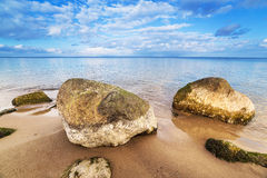 Calm Baltic sea scenery. Royalty Free Stock Image