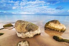 Calm Baltic sea scenery. Royalty Free Stock Image