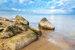 Calm Baltic sea scenery Royalty Free Stock Photo