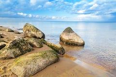 Calm Baltic sea scenery Royalty Free Stock Photo