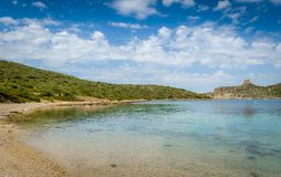 Calm bay Stock Images