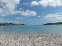 Calm Bay. Perfect stillness on the Helford Passage Royalty Free Stock Photography