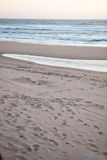 Calm beach scene Stock Photography