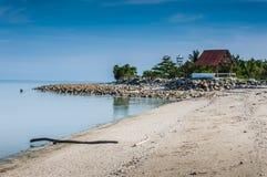 Calm beach Stock Image