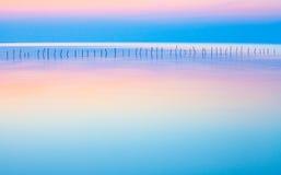 Calm&Beautifulzeegezicht Royalty-vrije Stock Afbeeldingen