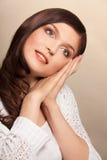 Calm beauty portrait Stock Images