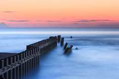 Calm Blue Ocean Hatteras North Carolina Royalty Free Stock Photography