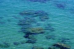 Calm blue sea Royalty Free Stock Photo