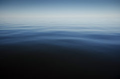 Calm blue sea at summer time Royalty Free Stock Images