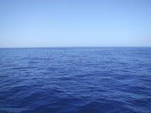 Calm blue seascape Stock Image
