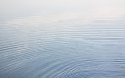Calm blue water Stock Image