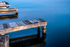 Calm blue water Royalty Free Stock Photos