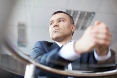 Calm businessman Stock Photos