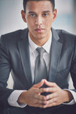 Calm businessman Royalty Free Stock Photography